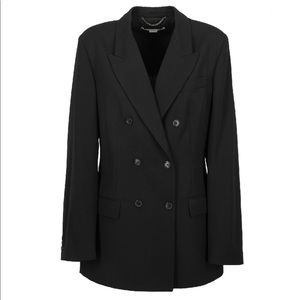 STELLA MCCARTNEY Double Breasted Blazer Coat Sz 42